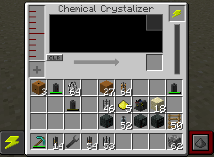 """... between revisions of """"Chemical Crystallizer"""" - Official Mekanism Wiki"""